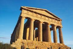 Temple grec Photo libre de droits