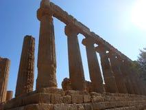 Temple grec Photographie stock