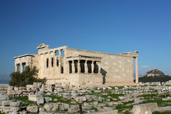 Temple grec photographie stock libre de droits