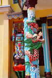 Temple guardian,  Cao Dai Temple Royalty Free Stock Image
