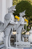 Temple guardians Royalty Free Stock Image