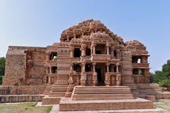 Temple in Gwalior, India Stock Photo