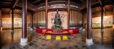 Temple héréditaire des yuans de Qu dedans Photographie stock