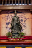 Temple héréditaire des yuans de Qu dedans Image libre de droits