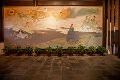 Temple héréditaire des yuans de Qu dedans Images stock