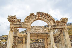Temple of Hadrian Stock Photography