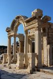 The temple of Hadrian Royalty Free Stock Images