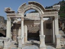Temple of Hadrian. In Ephesus Royalty Free Stock Photos