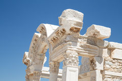 Temple of Hadrian in Ephesus Ancient City Royalty Free Stock Photography