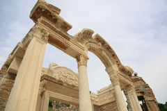 Temple of Hadrian in Ephesus Royalty Free Stock Photos