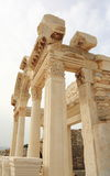 Temple of Hadrian in Ephesus Stock Photos