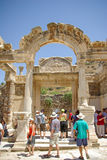 Temple of Hadrian, Ephesus Stock Photography