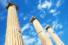 Temple of Hadrian in Ephesus, Turkey Stock Image