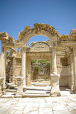 Temple of Hadrian, Ephesus Stock Photo