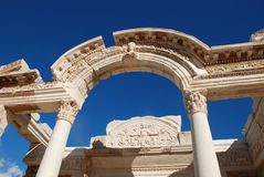 Temple of Hadrian, Ephesus, Turkey, Royalty Free Stock Photos