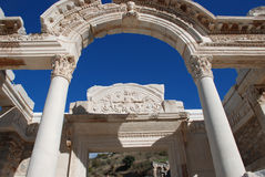 Temple of Hadrian, Ephesus, Turkey, Stock Photos