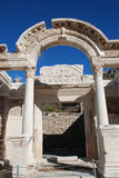 Temple of Hadrian, Ephesus, Turkey, Royalty Free Stock Image