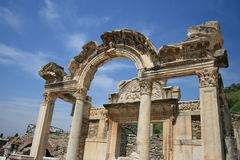 Temple of Hadrian, Ephesus, Turkey. 