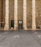 Temple of Hadrian, Il Tempio di Adriano Stock Photos