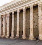 Temple of Hadrian, Il Tempio di Adriano Stock Photography