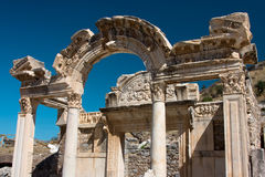 Temple of Hadrian, Turkey. Temple of Hadrian, Ephesus, Turkey Royalty Free Stock Images