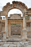 The Temple of Hadrian. Stock Photo