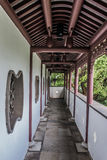 Temple hall Kowloon Walled City Park Hong Kong Royalty Free Stock Image