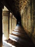 Temple Hallway Royalty Free Stock Images