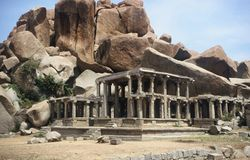 Temple in Hampi,India Stock Photos