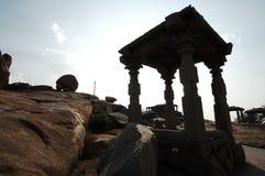 Temple in Hampi Karnataka India Royalty Free Stock Photography