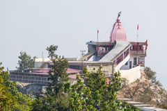Temple in Haridwar. Chandi Devi Temple, Haridwar is a Hindu temple dedicated to Goddess Chandi Devi in the holy city of Haridwar in the Uttarakhand state of Stock Photos