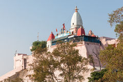 Temple in Haridwar. Mansa Devi Temple is a Hindu temple dedicated to goddess Mansa Devi in the holy city of Haridwar in the Uttarakhand state of India Stock Image