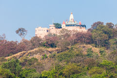 Temple in Haridwar royalty free stock image
