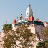 Temple in Haridwar. Mansa Devi Temple is a Hindu temple dedicated to goddess Mansa Devi in the holy city of Haridwar in the Uttarakhand state of India Royalty Free Stock Photos
