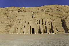 Temple of hathor Stock Photography