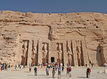 Temple of Hathor Royalty Free Stock Image