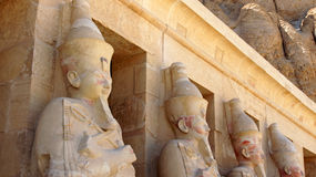Temple of hatschepsut. Temple complex from hatschepsut in luxor, egypt Royalty Free Stock Photos