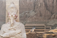 Temple of Hatsepsut in Egypt Royalty Free Stock Images