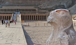 Temple of Hatsepsut in the valley of queens Stock Photography