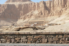 Temple of Hatshepsut Stock Image