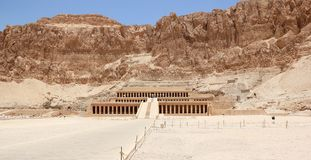 Temple of Hatshepsut. Royalty Free Stock Image