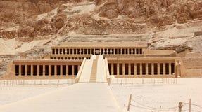 Temple of Hatshepsut. Royalty Free Stock Photo
