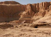 Temple of Hatshepsut. In Egypt, The Valley Of The Kings Royalty Free Stock Image