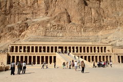 The Temple of Hatshepsut in Egypt Royalty Free Stock Photography