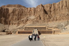 The Temple of Hatshepsut in Egypt Stock Image