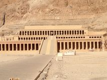 Temple of Hatshepsut Royalty Free Stock Images