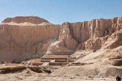 Temple of hatshepsut Stock Images