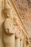 Temple of Hatshepsut in Luxor Stock Photo