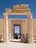 Temple of Hatshepsut in Luxor. Ancient temple of Hatshepsut in Luxor royalty free stock photography