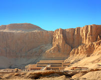 Temple of Hatshepsut in Luxor Egypt Stock Photography